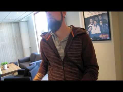 Bandit Grovmalet gitarrsignering med In Flames