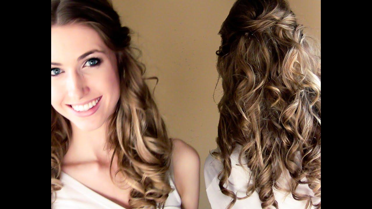 My Wedding Hairstyle Amp Bridal Shower Rachhweds Youtube
