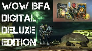 WOW | BATTLE FOR AZEROTH | DIGITAL DELUXE EDITION | PC