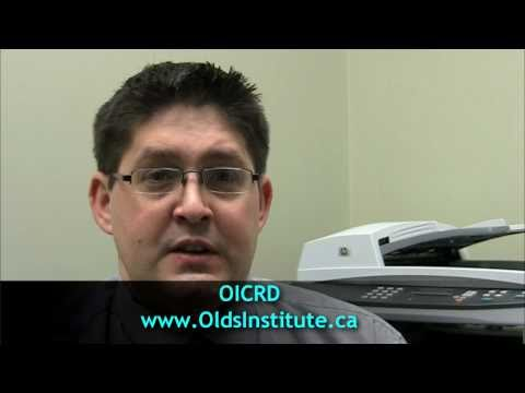 Olds Chamber of Commerce uses video conferencing for member training sessions