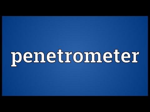 Header of penetrometer