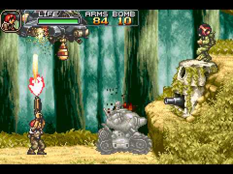 Metal Slug Advance - Vizzed.com Play - User video