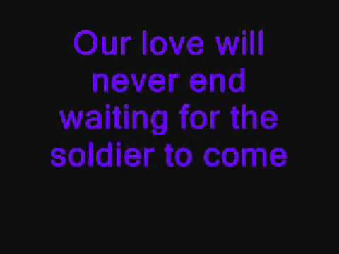 travelin soldier with lyrics