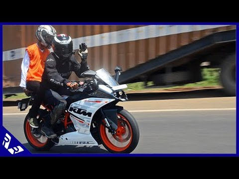 KTM RC390 First Ride India: Highway super speed run- 170 kmph (Can do more!!)
