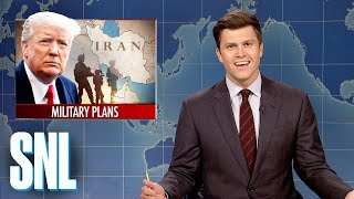 Weekend Update: Trump's Iran Conflict Confusion - SNL