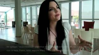 Evanescence: Onstage intervista Amy Lee