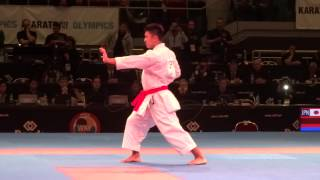 KIYUNA RYO Male Kata Finale - 2014 World Karate Championships