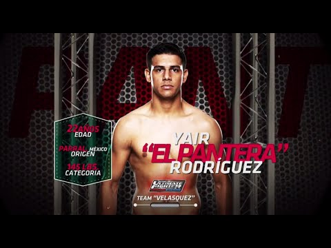 "The Ultimate Fighter Latin America: Yair ""El Pantera"" Rodriguez"