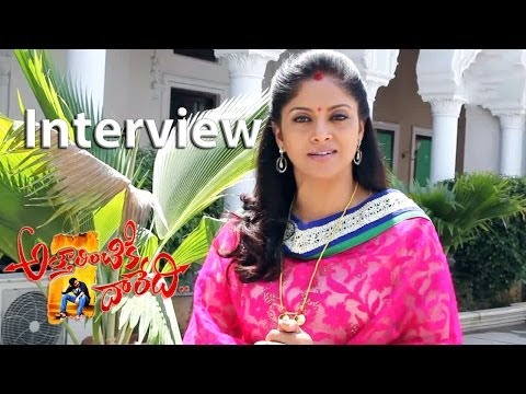 Attarintiki Daredi Movie Making Nadhiya Interview At Location