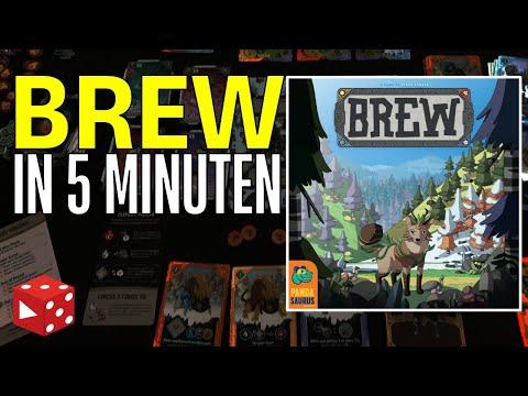 Brew in 5 Minuten (Stevo Torres, Pandasaurus Games 2021) - Brettspiel im Test