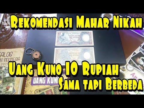 Rekomendasi Mahar Nikah Uang Kuno 10 Rupiah Sama Tapi Berbeda
