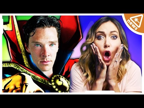 Is BENEDICT CUMBERBATCH the Right Fit for DOCTOR STRANGE? (Nerdist News w/ Jessica Chobot)