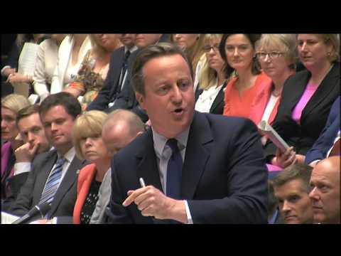 David Cameron's last PMQs: 13 July 2016
