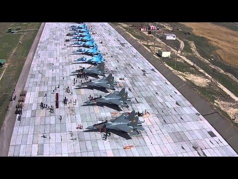Армия Казахстан. Истребитель СУ 30СМ.