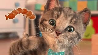 Fun Kids Games   Play Fun Cute Kitten Pet Care Games   Little Kitten My Favorite Cat Mini Games