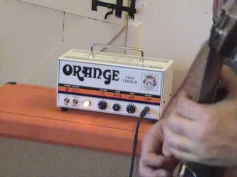 Orange Tiny Terror Metal