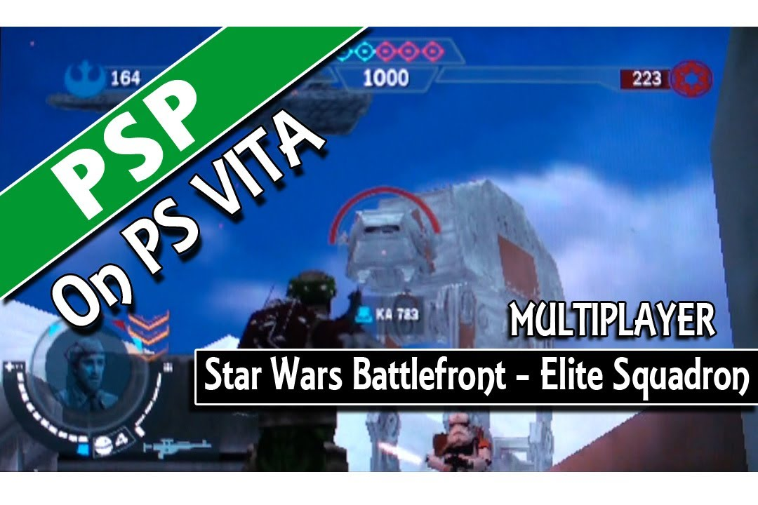 Psp on ps Vita Star Wars