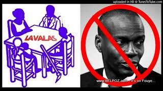 AUDIO: Haiti - LAVALAS di nou pap chita pale ak Jovenel Moise, nou pa rekonet pouvwa sa a