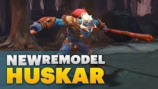 Dota 2 New Model - Huskar