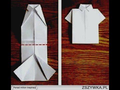 Как завернуть подарок мужчине в виде рубашки 48