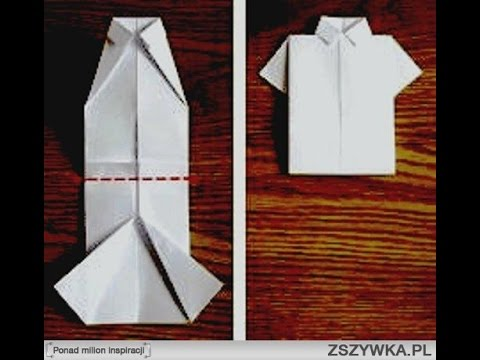 Своими руками футболка из бумаги