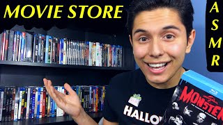 [ASMR] Movie Store Role Play! (Movies, Whispering, Tapping & MORE!)