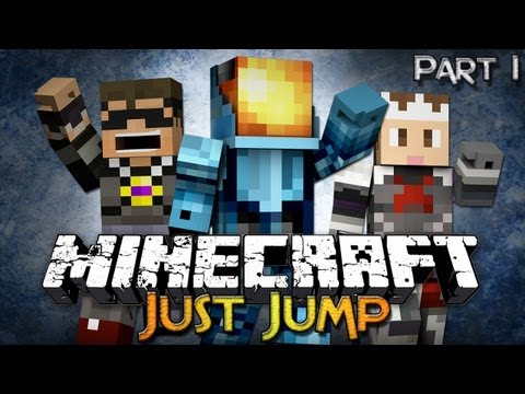 Minecraft: Just Jump - Part 1 w/ SkyDoesMinecraft & Setosorcerer!