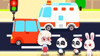 Baby Panda Games - Kids play and learn about safe knowledge - educational game for kids