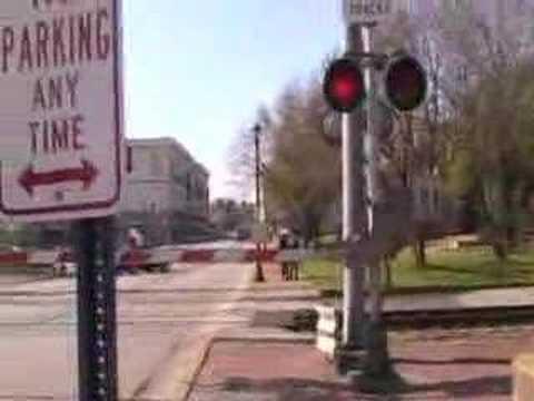 Hi rail truck thru Kirkwood MO.