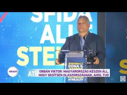 Rómában mondott beszédet Orbán Viktor az olasz bevándorlásellenes párt meghívására