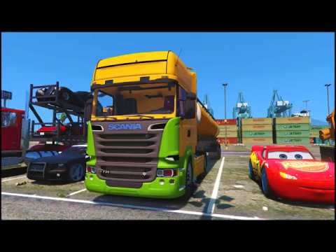 Funny Colors Cars Party - Cartoon for Kids and Nursery Rhymes Songs