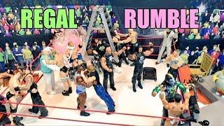 GTS WRESTLING: Royal Rumble! WWE Mattel Elite Figure Animation PPV Championship Match