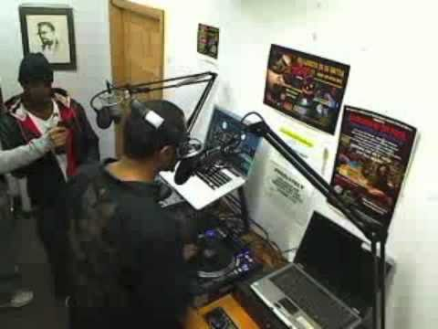 Chad B. Interview & Freestyle on 103.9 FM with DJ Tajee