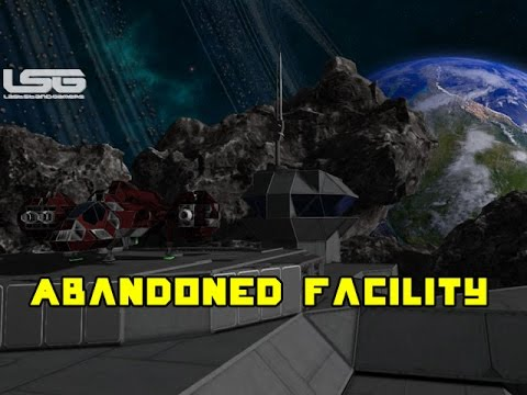 Space Engineers - Abandoned Lunar Facility, Alternative Survival Start