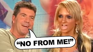 "Simon Cowell Clashes With Christina Aguilera ""Sound-alike"" on American Idol!"