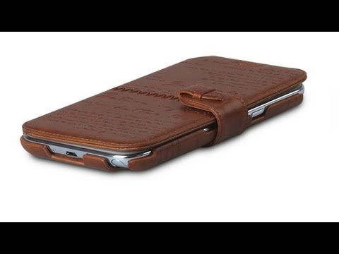 Zenus Lettering Diary Note 2 Wallet Case Review