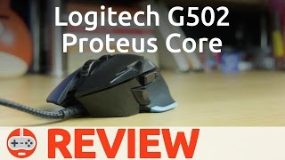 Logitech G502 Proteus Core Gaming Mouse Review - Gaming Till Disconnected