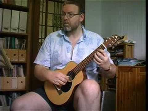 Rob Armstrong baby guitar -- fugue by Gaspar Sanz