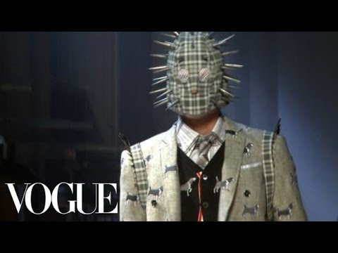 Fashion Show - Thom Browne Fall 2012 Menswear