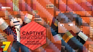 CAPTIVE MINECRAFT EP 7: HACK TEAM TROLLED US (Captive Minecraft Room of Monuments w/ Mitch)
