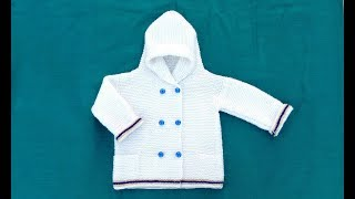Easy Knitting jacket for baby/Kids || in hindi