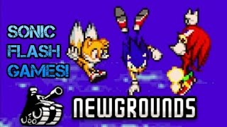 Let's Play Sonic Flash Games!