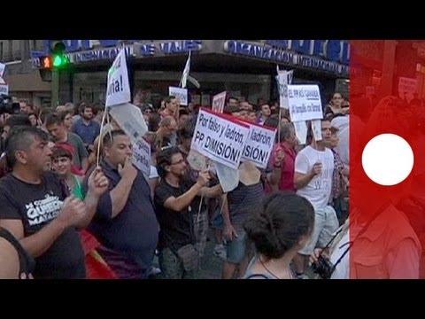 Rajoy ante la prensa, Bárcenas ante el juez