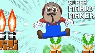 THESE LEVELS SO HARD.. I LOST MY DAMN SOUL.. [SUPER MARIO MAKER] [#120]
