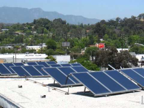 Jim Thornton of KNX talks about his Mediterranean Solar System