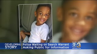 Police Waiting For Search Warrant On Hit-And-Run That Killed 5-Year-Old Boy