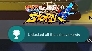 Getting The Last Achievements In Naruto Shippuden Ultimate Ninja Storm 4!