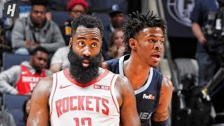 Houston Rockets vs Memphis Grizzlies - Full Game Highlights | November 4, 2019 | 2019-20 NBA Season