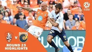 Hyundai A-League 2017/18 Round 25: Brisbane Roar 1 - 0 Central Coast Mariners