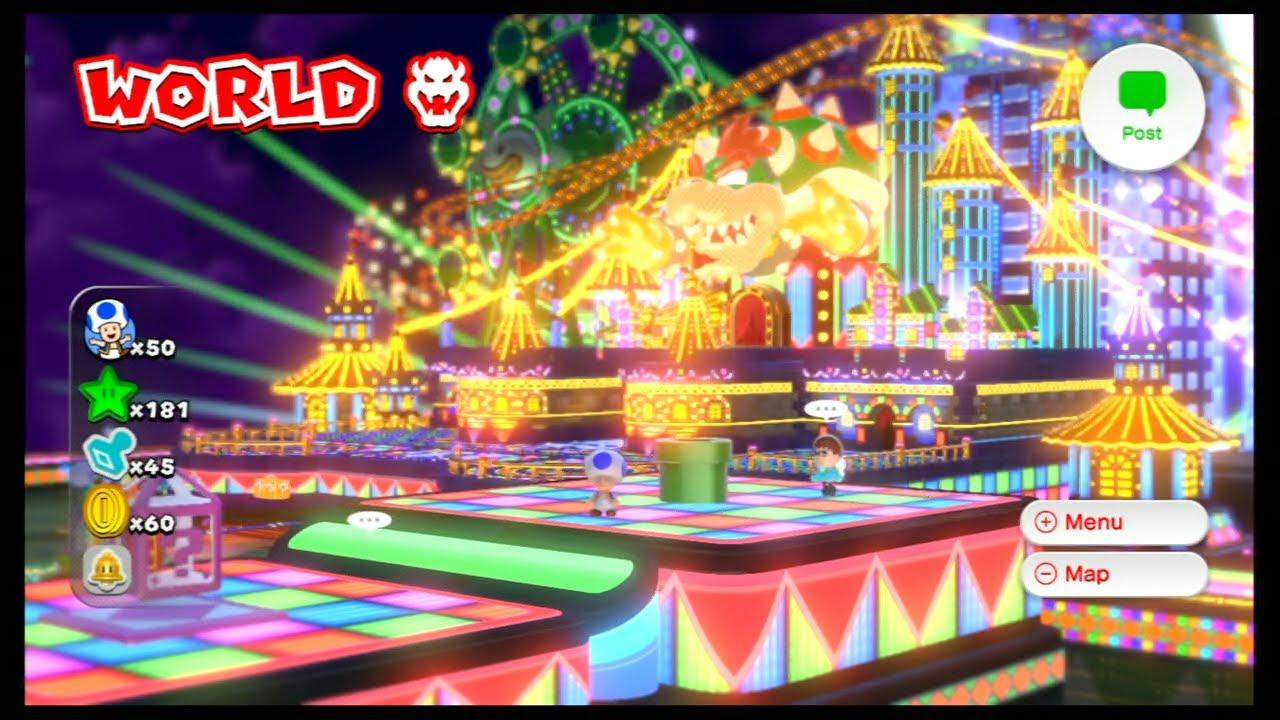 Super Mario 3d World World Bowser 8 Youtube